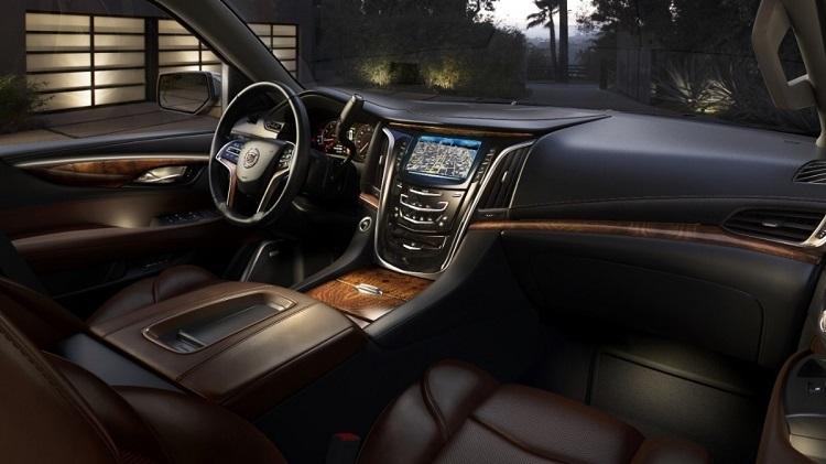 2016 Cadillac LTS interior design