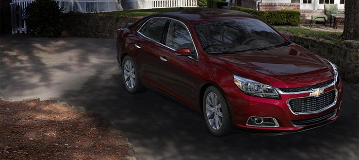 2016 Chevrolet Malibu front design