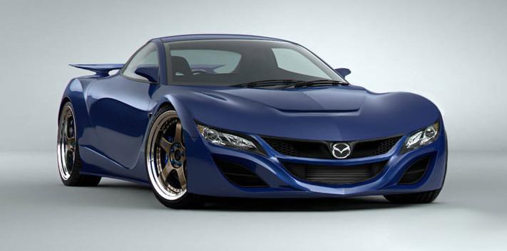 2017 Mazda RX-9 Concept Design