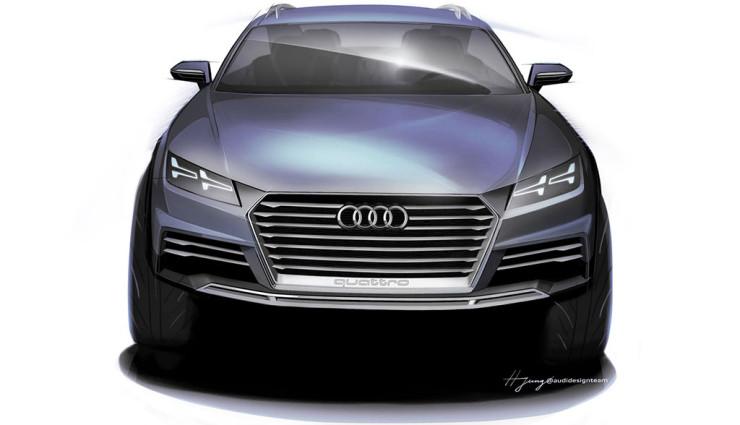 2016 Audi Q8 rear design