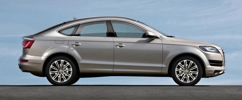 2016 Audi Q8 side design