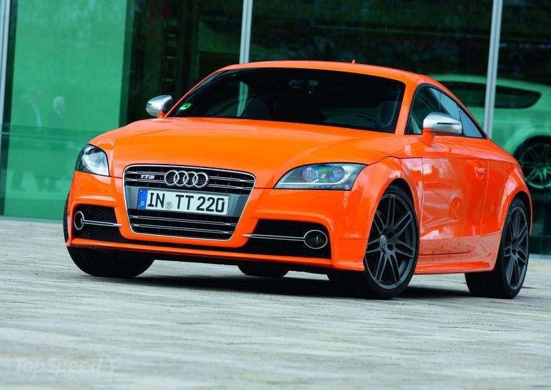 2016 Audi TTS front design