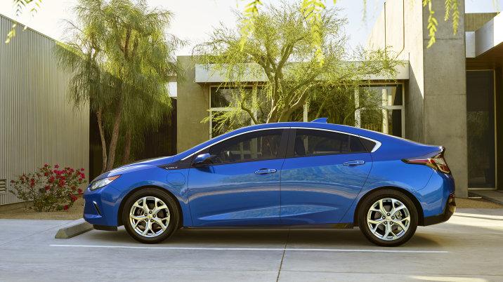 2016 Chevrolet Volt Range side design