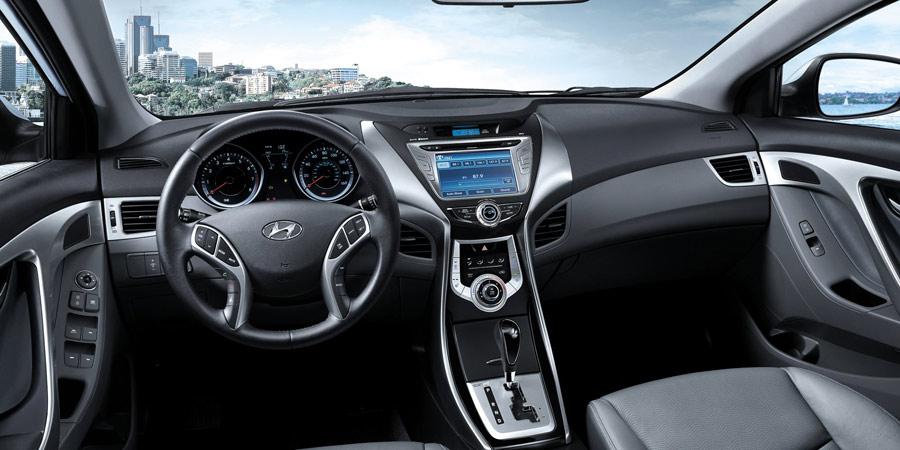 2016 Hyundai Elantra GT interior design