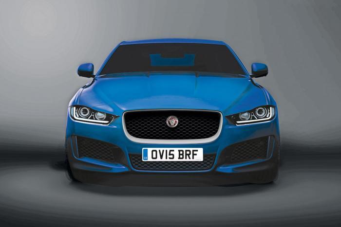 2016 Jaguar XE front design