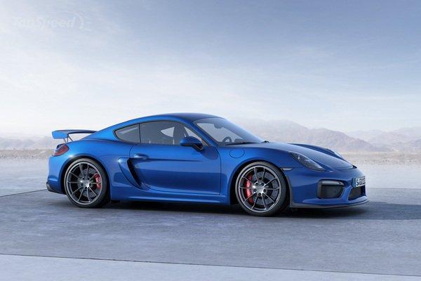 2016 PORSCHE CAYMAN GT4 redesign concept