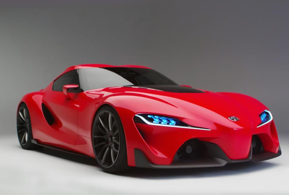 2016 Toyota FT-1 light design