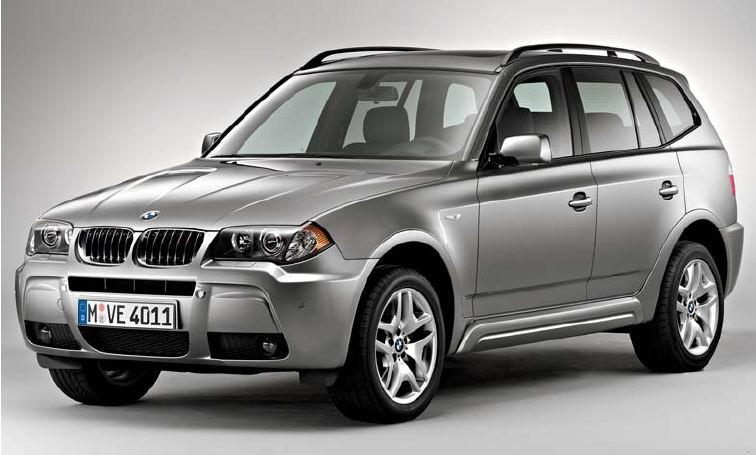 2017 BMW X3 exterior design