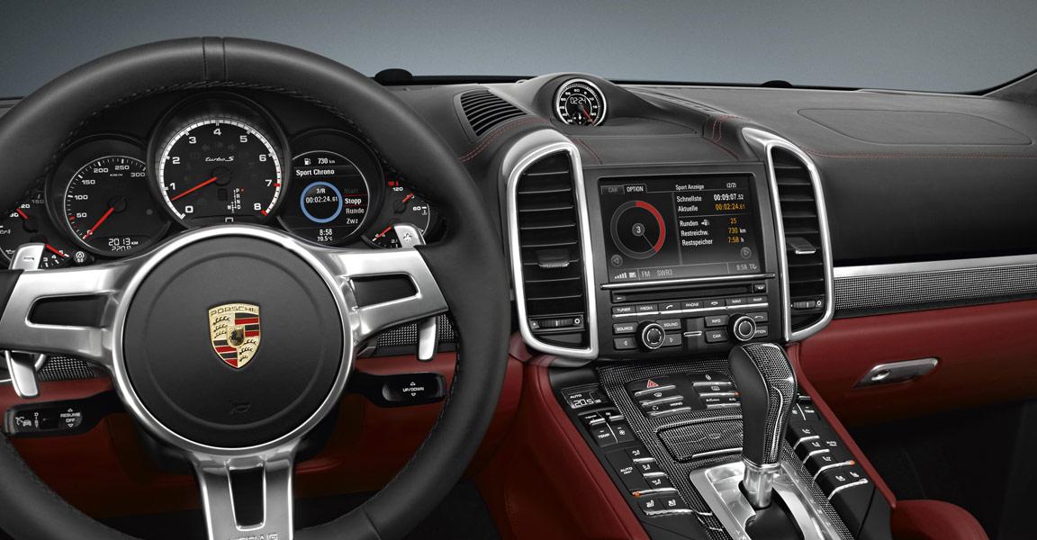 2017 Porsche Cayenne interior design