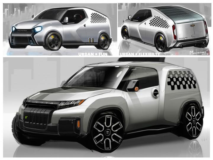 2017 TOYOTA U2 concept design