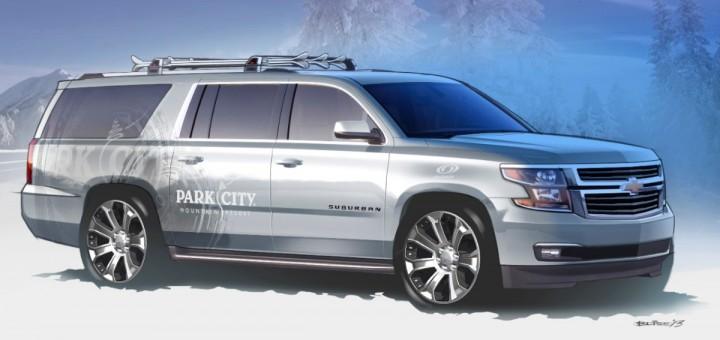 2016 Chevrolet Suburban concept design