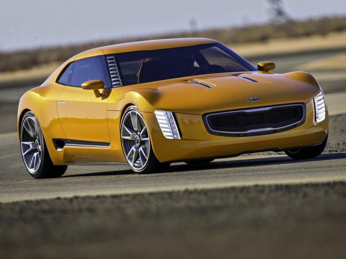 2016 Kia GT4 Stinger redesign concept