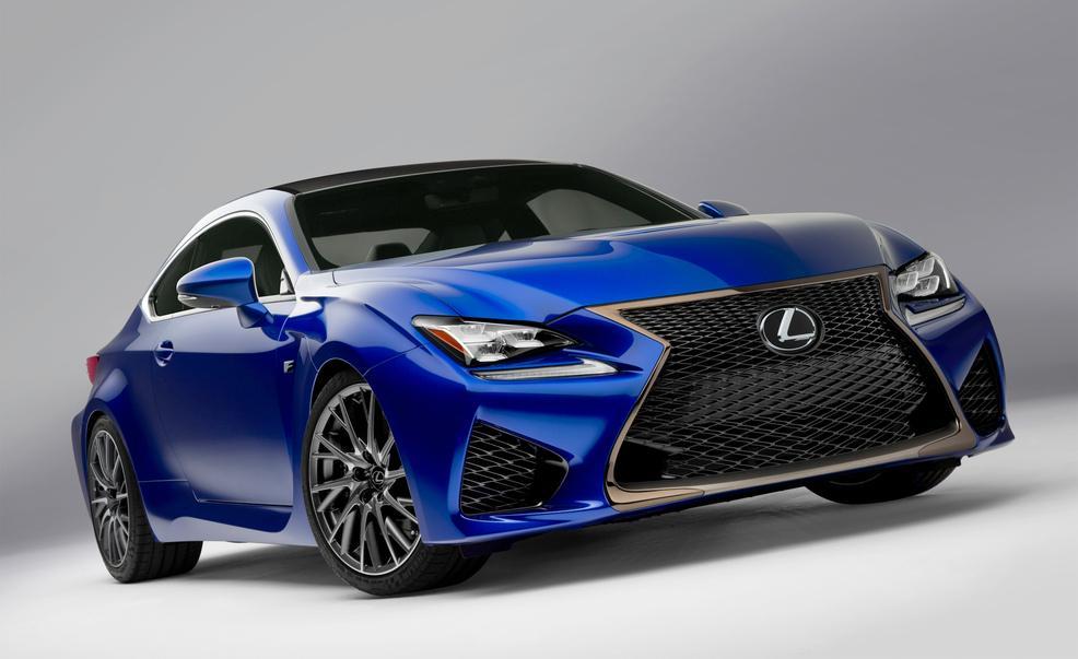 2016 Lexus RC F concept design