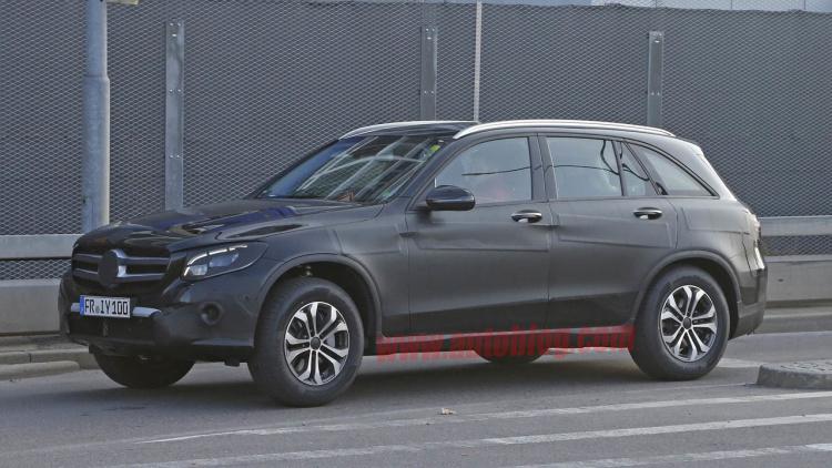 2016 Mercedes GLC class redesign concept