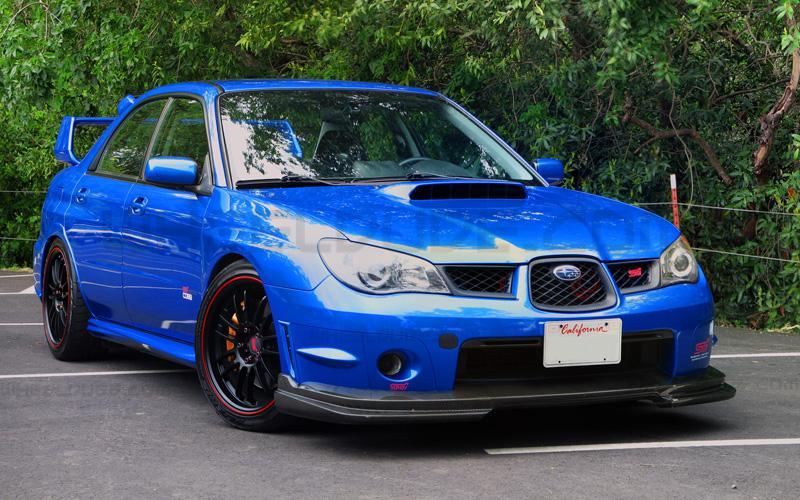 2016 Subaru WRX STI front design
