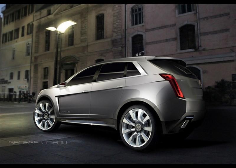 2017 Cadillac XT5 velg design