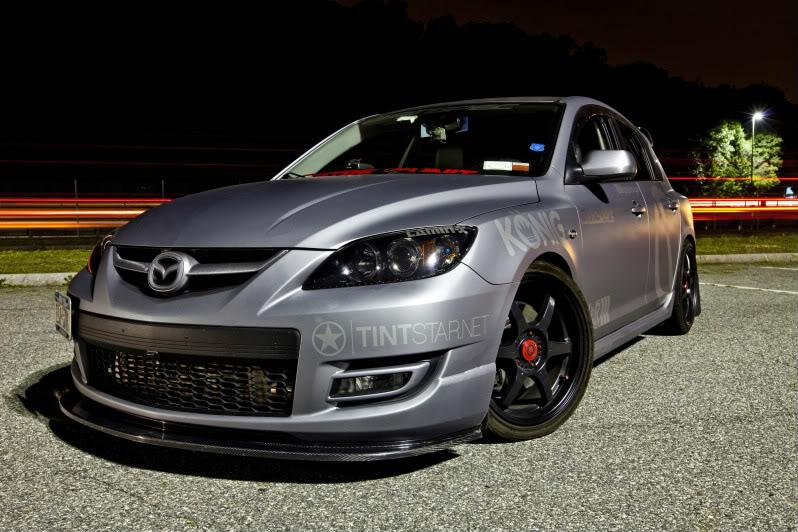 2017 Mazdaspeed 3 front design