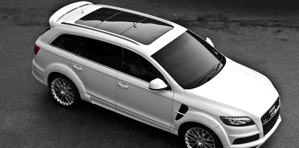 2016 Audi Q7 exterior design