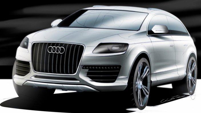 2016 Audi Q7 rear design