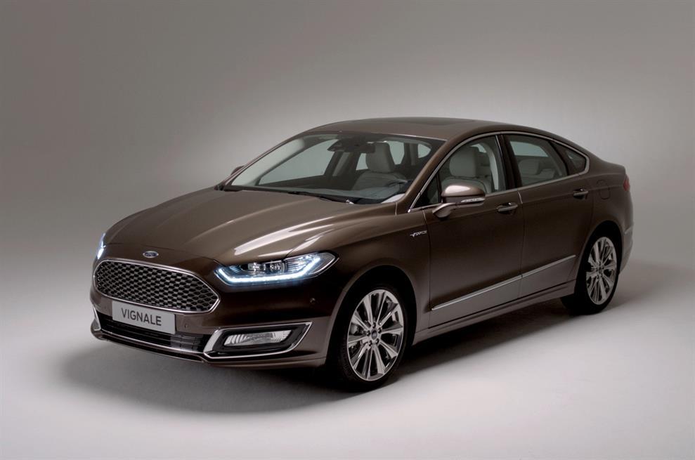 2016 Ford Mondeo Vignale exterior design