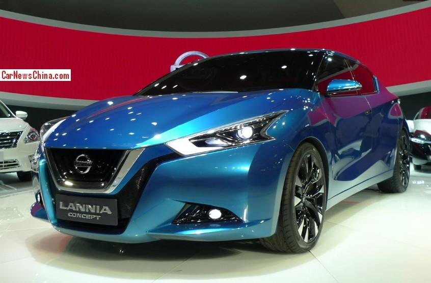 2016 Nissan Lannia front design